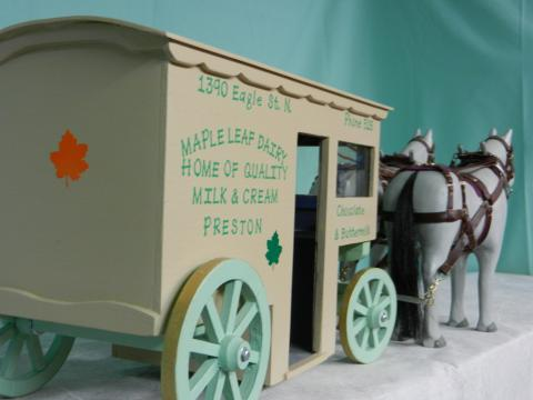 Milk / Dairy cart